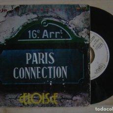 Discos de vinilo: PARIS CONNECTION - ELOISE + YOU´VE LOST THAT LOVING FEELING - SINGLE PROMO ESPAÑOL 1977 - SIBIS. Lote 117837155