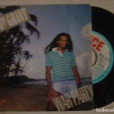 Discos de vinilo: EDDY GRANT - WAR PARTY + SAY I LOVE YOU - SINGLE ESPAÑOL 1983 - ICE. Lote 117838059