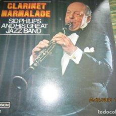Discos de vinilo: SID PHILLIPS - CLARINET MARMALADE LP - EDICION INGLESA - REDIFUSION RECORDS 1973 - STEREO -. Lote 117845107