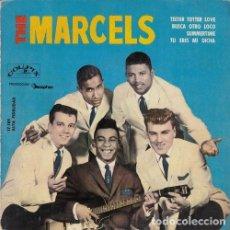 Discos de vinilo: THE MARCELS - TEETER TOTTER LOVE - EP ESPAÑOL DE VINILO. Lote 117848075