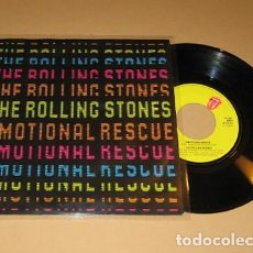 Discos de vinilo: THE ROLLING STONES - EMOTIONAL RESCUE - SINGLE - 1980 - IMPORT. Lote 117859315