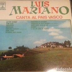 Discos de vinilo: LUIS MARIANO ?– CANTA AL PAÍS VASCO (ED. ESPAÑA, 1971). Lote 117866635