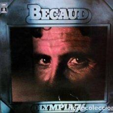 Discos de vinilo: BECAUD – OLYMPIA 76 (ED.: ESPAÑA, 1976) 2 × VINYL, LP, ALBUM, GATEFOLD. Lote 117871983