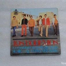 Discos de vinilo: LOS BOHEMIOS - LA FELICIDAD EP 1967 4 TEMAS GARAGE ROCK. Lote 117884027