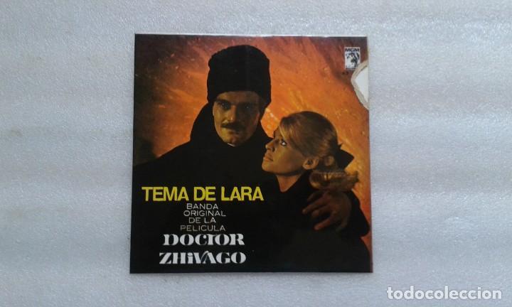 BANDA SONORA - DOCTOR ZHIVAGO TEMA DE LARA EP 1966 (Música - Discos de Vinilo - EPs - Bandas Sonoras y Actores)