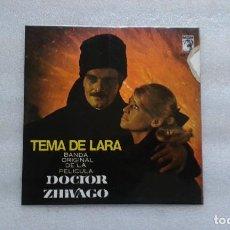 Discos de vinilo: BANDA SONORA - DOCTOR ZHIVAGO TEMA DE LARA EP 1966. Lote 117885503