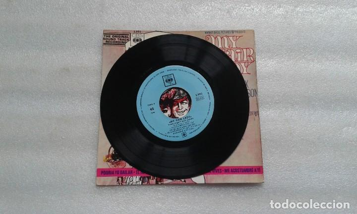 Discos de vinilo: BANDA SONORA - MY FAIR LADY EP 4 TEMAS 1965 EDICION ESPAÑOLA - Foto 2 - 117886099