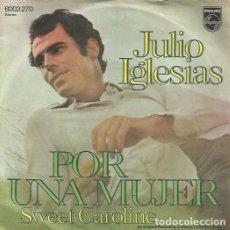 Discos de vinilo: JULIO IGLESIAS. SINGLE. SELLO PHILIPS. EDITADO EN ALEMANIA.. Lote 117901447