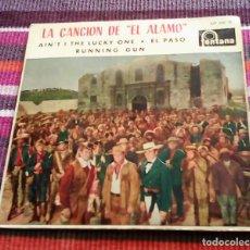 Discos de vinilo: MARTY ROBBINS - LA CANCION DEL ALAMO + 3 - EP 1960. Lote 117919259