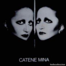 Discos de vinilo: MINA, CATENE. DOBLE LP ITALIA, 2 DISCOS. Lote 117925159