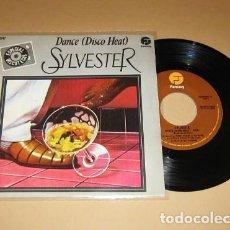 Discos de vinilo: SYLVESTER - DANCE (DISCO HEAT) - SINGLE - 1978. Lote 117926619