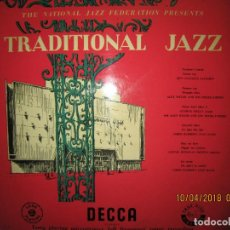 Discos de vinilo: TRADICIONAL JAZZ AT THE ROYAL FESTIVAL HALL LP - ORIGINAL INGLES - DECCA 1954 UNBOXED - MONO -. Lote 117927003