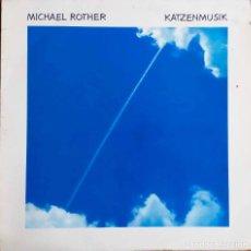Discos de vinilo: MICHAEL ROTHER. ( NEU ). KATZENMUSIK. LP ALEMANIA EN SKY RECORDS.. Lote 117927379