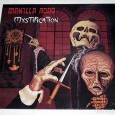 Discos de vinilo: LP MANILLA ROAD - MYSTIFICATION. Lote 117930175