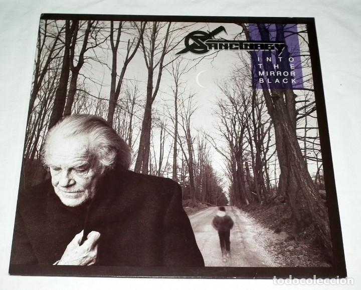 LP SANCTUARY - INTO THE MIRROR BLACK (Música - Discos - LP Vinilo - Heavy - Metal)