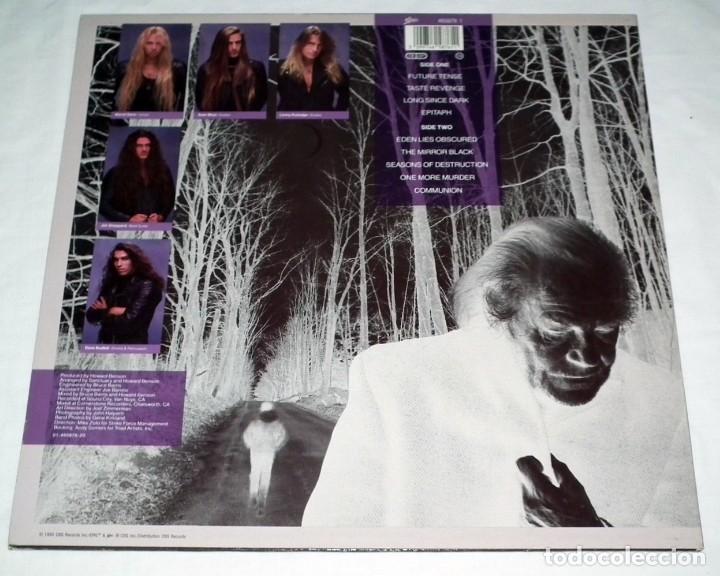Discos de vinilo: LP SANCTUARY - INTO THE MIRROR BLACK - Foto 2 - 117932323