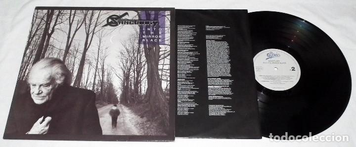 Discos de vinilo: LP SANCTUARY - INTO THE MIRROR BLACK - Foto 3 - 117932323