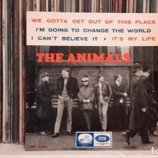 Discos de vinilo: ANIMALS - WE GOTTA GET OUT OF THIS PLACE . Lote 117935343