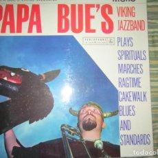 Discos de vinilo: PAPA BUE´S VIKING JAZZBAND LP - ORIGINAL INGLES - PARLOPHONE RECORDS 1961 - MONOAURAL -. Lote 117937003