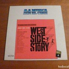 Discos de vinilo: LA MUSICA EN EL CINE - WEST SIDE STORY - LP. Lote 117953839