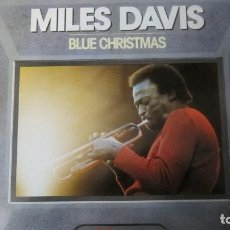 Discos de vinilo: MILES DAVIS - BLUE CHRISTMAS. Lote 131023876