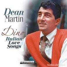 Discos de vinilo: DEAN MARTIN * LP 180G. * DINO: ITALIAN LOVE SONGS * BONUS * REMASTERED * PRECINTADO!!. Lote 188843178
