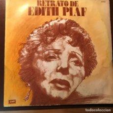 Discos de vinilo: LP ARGENTINO DE EDITH PIAF AÑO 1975. Lote 117963191