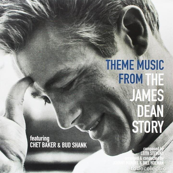 THEME MUSIC FROM THE JAMES DEAN STORY * LP VIRGIN VINYL * CHET BAKER & BUD SHANK * PRECINTADO!! (Música - Discos - LP Vinilo - Jazz, Jazz-Rock, Blues y R&B)