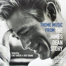 Discos de vinilo: THEME MUSIC FROM THE JAMES DEAN STORY * LP VIRGIN VINYL * CHET BAKER & BUD SHANK * PRECINTADO!!. Lote 117963215
