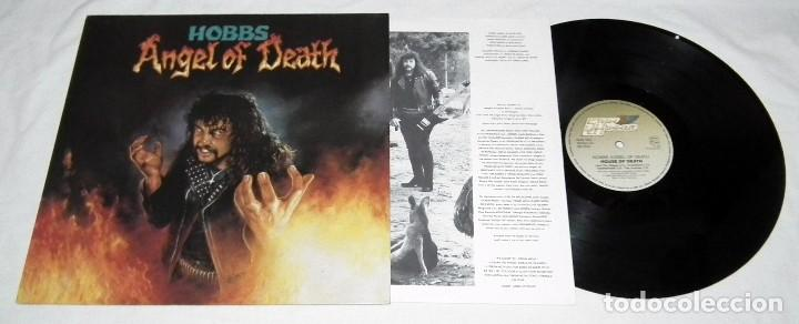 Discos de vinilo: LP HOBBS ANGEL OF DEATH - HOBBS ANGEL OF DEATH - Foto 3 - 117967395
