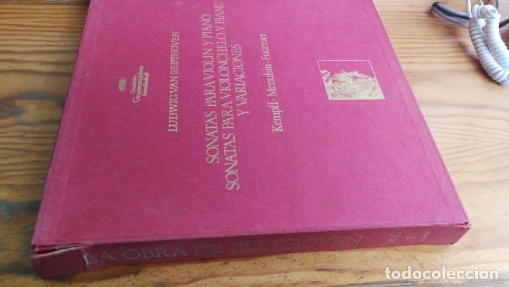 Discos de vinilo: LUIDWIG VAN BEETHOVEN,SONATAS PARA VIOLONCHELO Y PIANO Y VARIACIONES, DEUTSCHE GRAMMOPHON,8 LP'S BOX - Foto 3 - 117969899