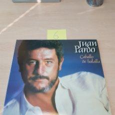 Discos de vinilo: JUAN PARDO -CABALLO DE BATALLA -DOBLE LP 1983 HISPAVOX. Lote 117970039