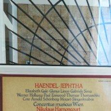 Discos de vinilo: HAENDEL-JEPHTHA, CONCENTUS MUSICUS WIEN.. Lote 117970335