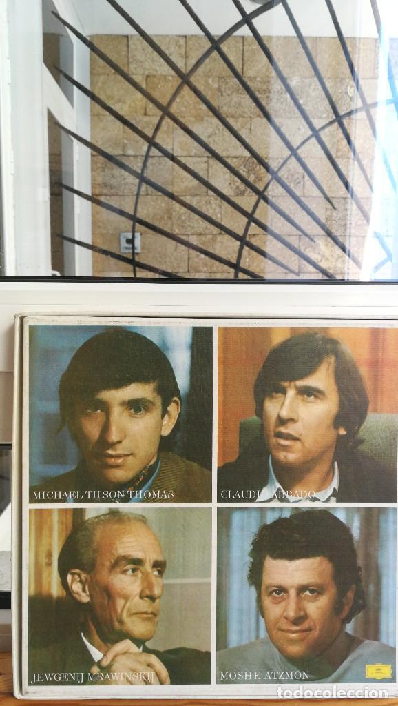 Discos de vinilo: PETER TCHAIKOVSKY, 6 SINFONIAS, EDICION CONMEMORATIVA, 6 LP'S MAS DOSSIER. - Foto 2 - 117970647