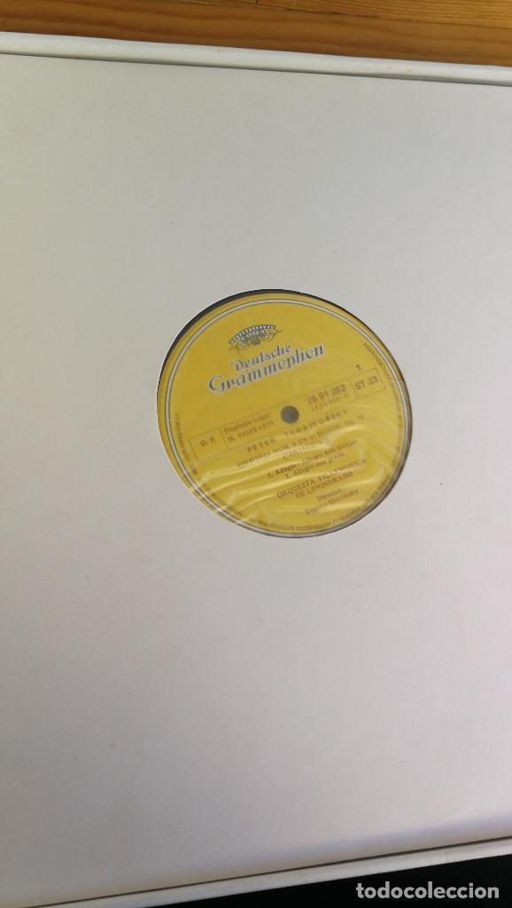 Discos de vinilo: PETER TCHAIKOVSKY, 6 SINFONIAS, EDICION CONMEMORATIVA, 6 LP'S MAS DOSSIER. - Foto 4 - 117970647