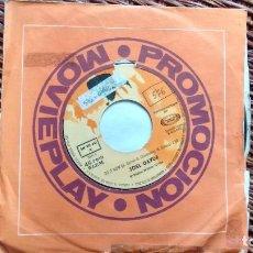 Discos de vinilo: SINGLE (VINILO)-PROMOCION- DE JOEL DAYDE AÑOS 70. Lote 117970887