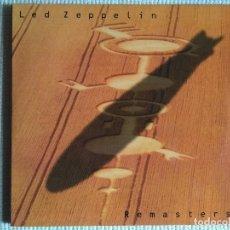 Discos de vinilo: LED ZEPPELIN - '' REMASTERS '' 3 LP + INNER TRIPLE GATEFOLD 1990 EU. Lote 117980451