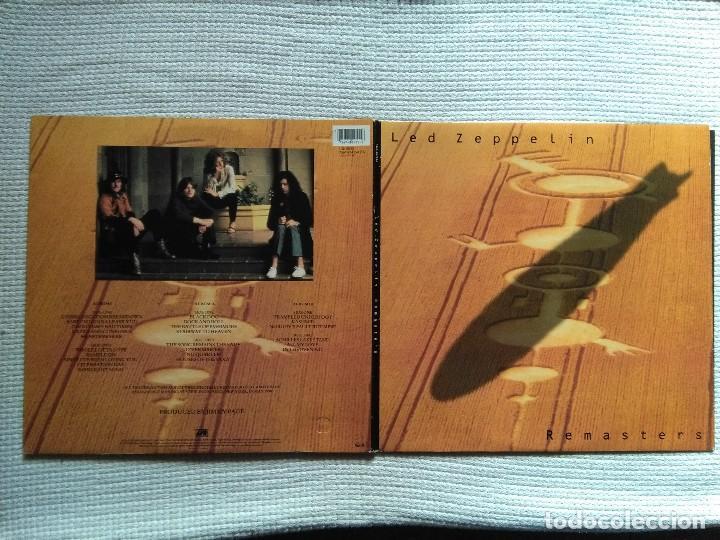 Discos de vinilo: LED ZEPPELIN - REMASTERS 3 LP + INNER TRIPLE GATEFOLD 1990 EU - Foto 2 - 117980451