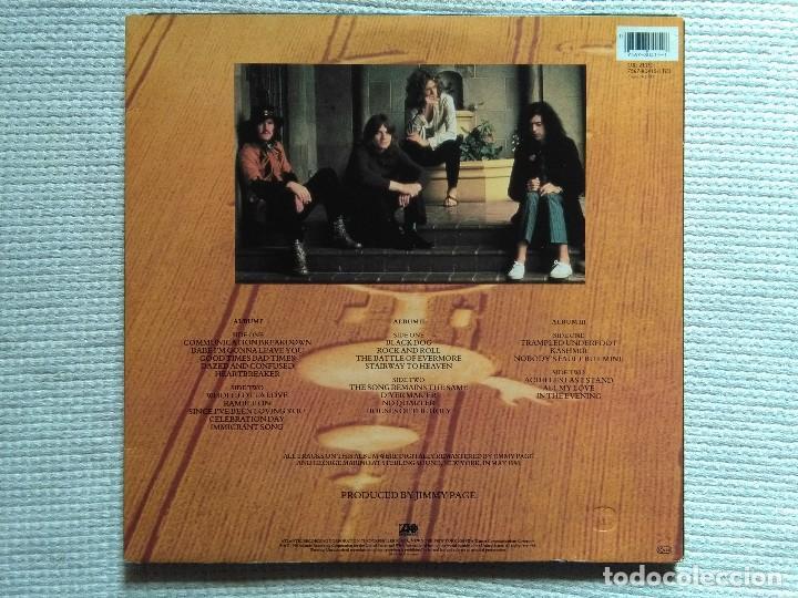 Discos de vinilo: LED ZEPPELIN - REMASTERS 3 LP + INNER TRIPLE GATEFOLD 1990 EU - Foto 5 - 117980451