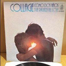 Discos de vinilo: COLLAGE / COMO DOS NIÑOS / LP - HISPAVOX - 1976 / MBC. ***/***. Lote 118008927