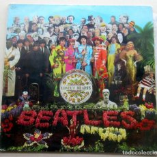 Discos de vinilo: THE BEATLES SERGEANT PEPPER´S LONELY HEARTS CLUB BAND ODEON PFSL 9.000 AÑO 1967. Lote 118018679