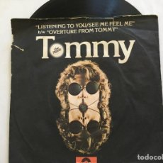 Discos de vinilo: 7 SINGLE-TOMMY-LISTENING TO YOU. Lote 118023575