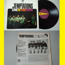 Discos de vinilo: THE TEMPTATIONS / LIVE AT THE COPA 68 !! GET READY 1ª EDIC ORIG USA / GREAT FUNK SOUL, TODO EXC !!!!. Lote 118023947