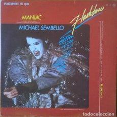 Discos de vinilo: MICHAEL SEMBELLO - MANIAC - CASABLANCA - 812 516-1 SPAIN. Lote 219390230