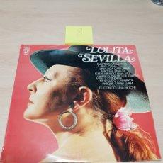 Discos de vinilo: LOLITA SEVILLA LP SELLO DISCOPHON AÑO 1978. Lote 118038927