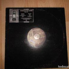 Discos de vinilo: COURAGE OF LASSIE, SING OR DIE ,C,ST LA MORT RECORDS USA ED LIMITADA VINILO BLANCO ROUG TRADE. Lote 118058235
