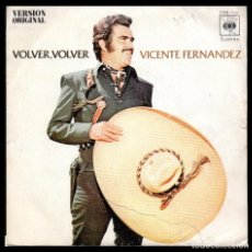 Discos de vinilo: VICENTE FERNANDEZ, VOLVER, VOLVER Y DEMAS.. Lote 118059755