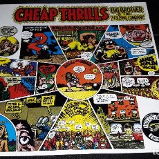 Discos de vinilo: JANIS JOPLIN CHEAP THRILLS BIG BROTHER & THE HOLDING COMPANY CBS 32004 (PR) PROMO MUY BUEN ESTADO. Lote 118062323