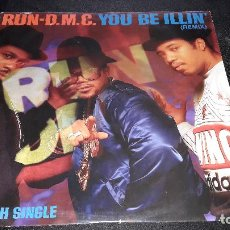 Discos de vinilo: RUN DMC - YOU BE ILLIN´ 12 PULGADAS MAXI BUEN ESTADO. Lote 118074303