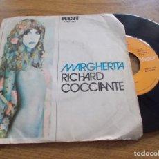 Discos de vinilo: RICHARD COCCIANTE. MARGHERITA. Lote 118087439